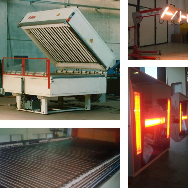 forni a infrarosso, forni infrarossi, forni industriali